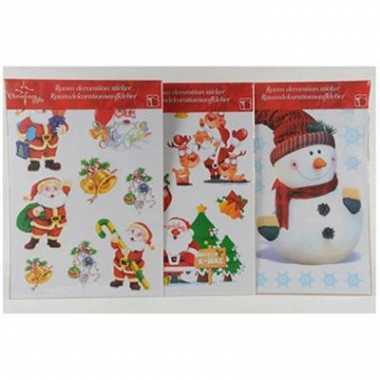 Decoratie kerst wand stickers