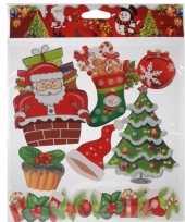 Kerst raamstickers type 4